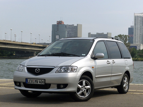 Фото автомобиля Mazda MPV LW, ракурс: 45