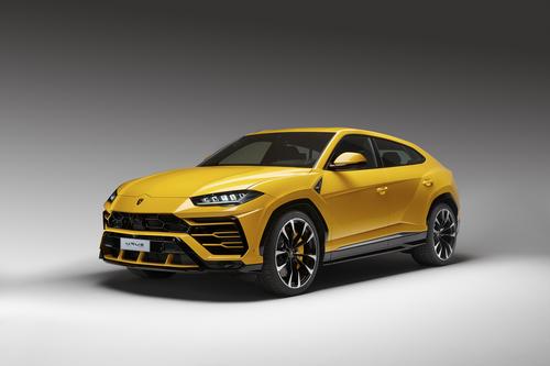 Фото автомобиля Lamborghini Urus 1 поколение, ракурс: 45 цвет: желтый