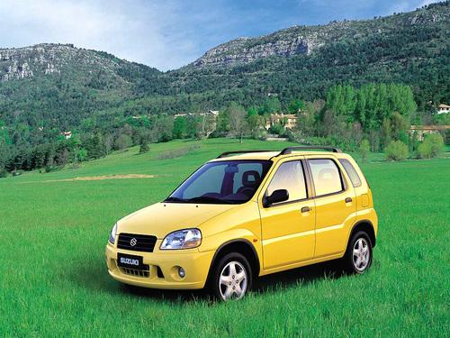 Фото автомобиля Suzuki Ignis 1 поколение, ракурс: 45