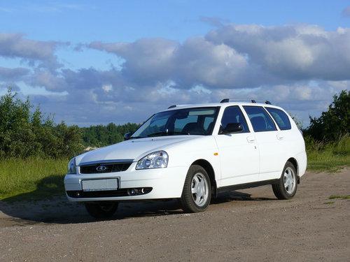 Фото автомобиля ВАЗ (Lada) Priora 1 поколение, ракурс: 45 цвет: белый