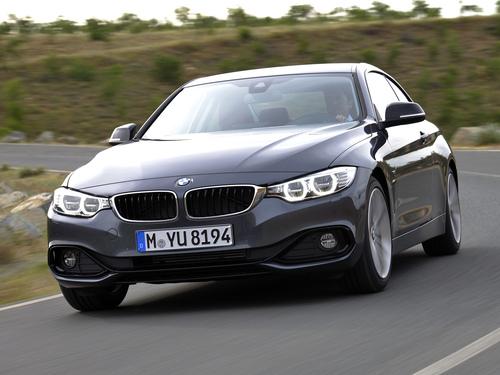 Фото автомобиля BMW 4 серия F32/F33/F36, ракурс: 45 цвет: серый