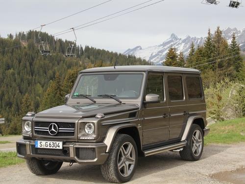 Фото автомобиля Mercedes-Benz G-Класс W463 [2-й рестайлинг], ракурс: 45 цвет: бронзовый