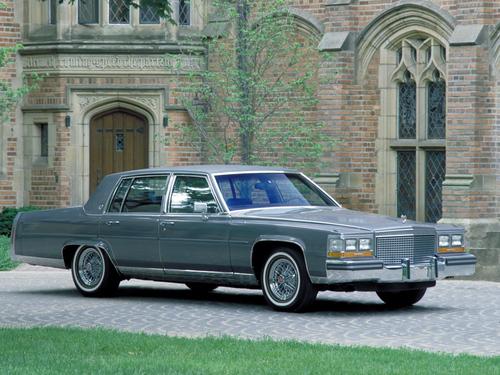 Фото автомобиля Cadillac Brougham 1 поколение, ракурс: 315