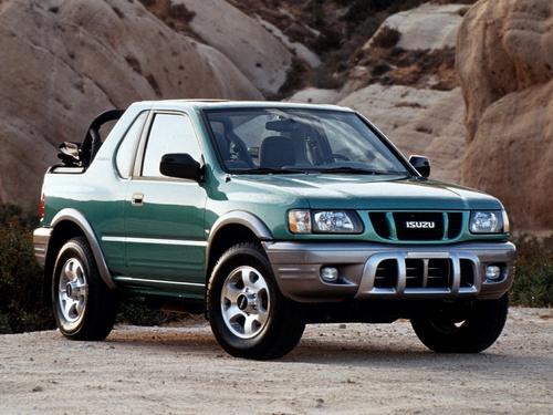 Фото автомобиля Isuzu Amigo 2 поколение [рестайлинг], ракурс: 45
