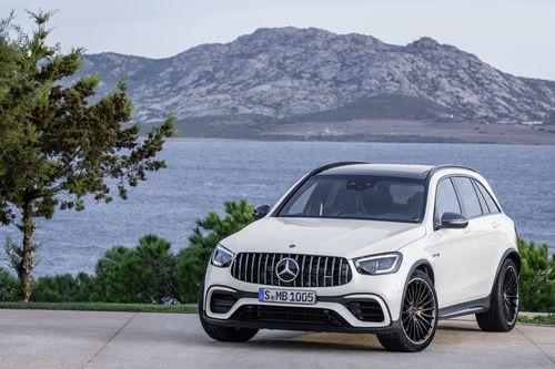 Фото автомобиля Mercedes-Benz GLC-Класс X253/C253 [рестайлинг], ракурс: 45 цвет: белый