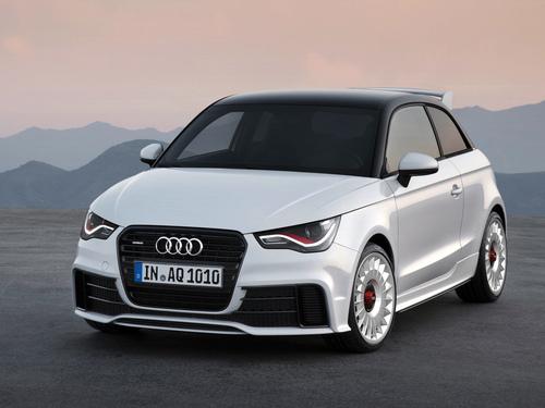 Фото автомобиля Audi A1 8X, ракурс: 45