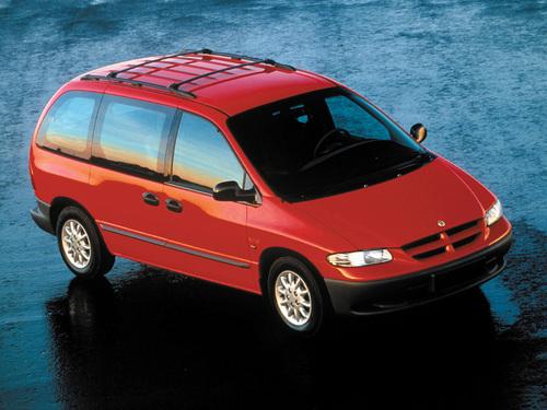 Фото автомобиля Chrysler Voyager 3 поколение, ракурс: 315