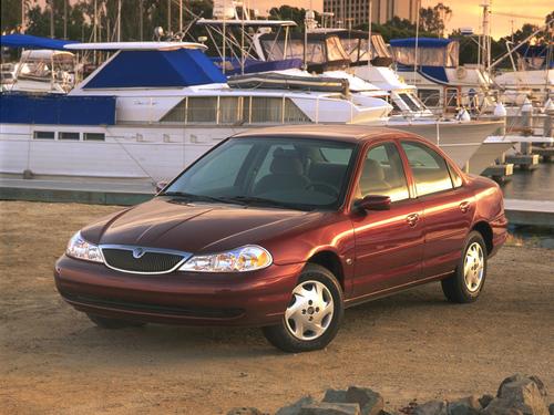 Фото автомобиля Mercury Mystique 1 поколение, ракурс: 45