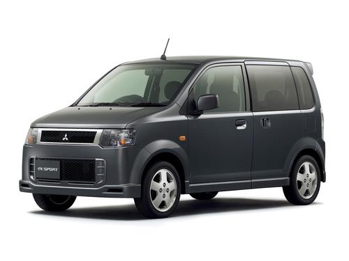 Фото автомобиля Mitsubishi eK H82W, ракурс: 45 цвет: серый