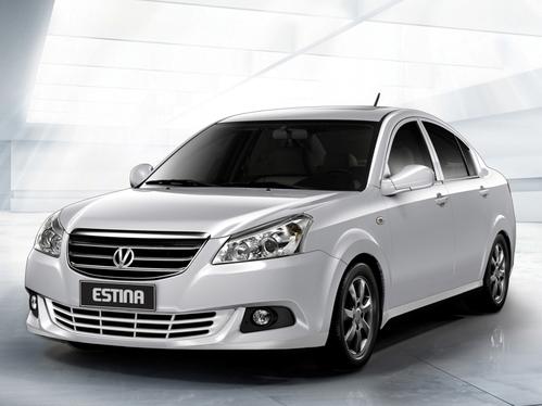 Фото автомобиля Vortex Estina 1 поколение [рестайлинг], ракурс: 45 цвет: серебряный