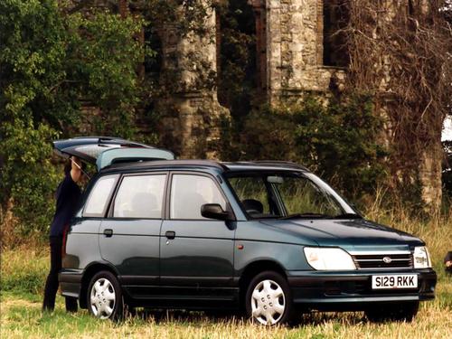Фото автомобиля Daihatsu Gran Move 1 поколение [рестайлинг], ракурс: 45
