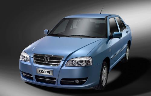 Фото автомобиля Vortex Corda 1 поколение, ракурс: 45 цвет: синий