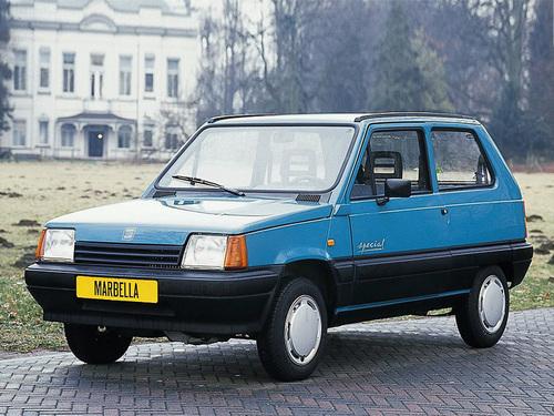 Фото автомобиля SEAT Marbella 1 поколение, ракурс: 45