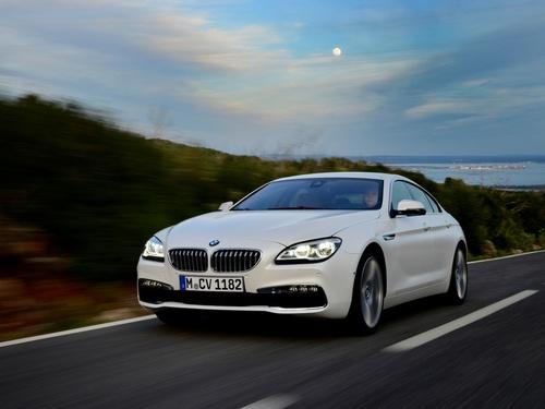 Фото автомобиля BMW 6 серия F06/F12/F13 [рестайлинг], ракурс: 45 цвет: белый