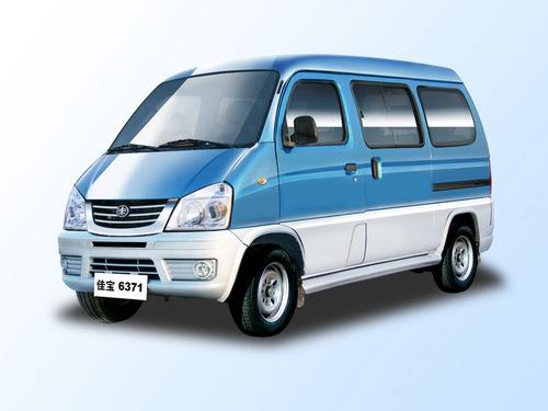 Фото автомобиля FAW 6371 1 поколение, ракурс: 45 цвет: голубой