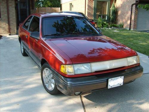 Фото автомобиля Mercury Topaz 1 поколение, ракурс: 45