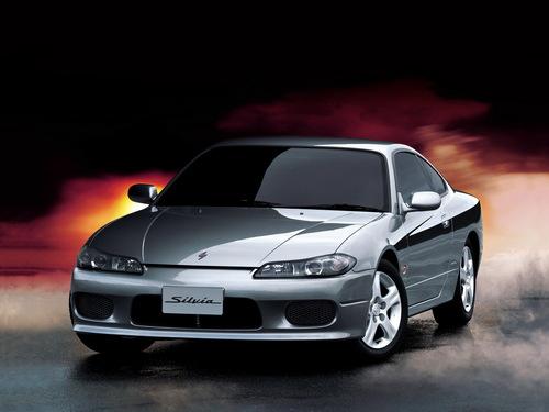 Фото автомобиля Nissan Silvia S15, ракурс: 45