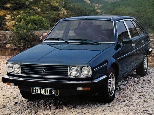Фото автомобиля Renault 30 1 поколение, ракурс: 45