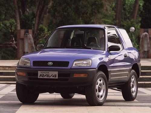 Фото автомобиля Toyota RAV4 1 поколение, ракурс: 45
