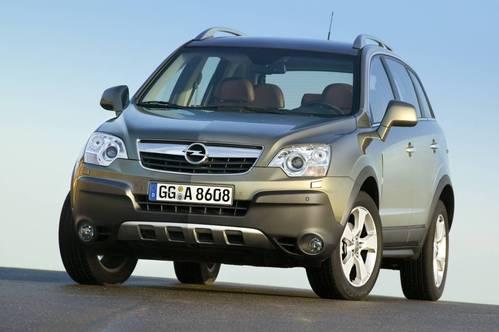 Фото автомобиля Opel Antara 1 поколение, ракурс: 45 цвет: салатовый