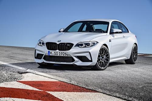 Фото автомобиля BMW M2 F87 [рестайлинг], ракурс: 45 цвет: белый