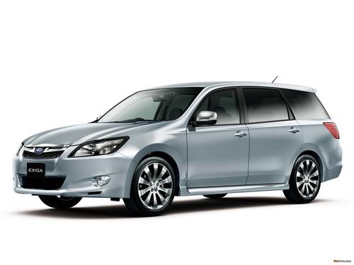 Фото автомобиля Subaru Exiga 1 поколение [рестайлинг], ракурс: 45
