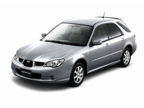 Фото автомобиля Subaru Impreza 2 поколение [2-й рестайлинг], ракурс: 45