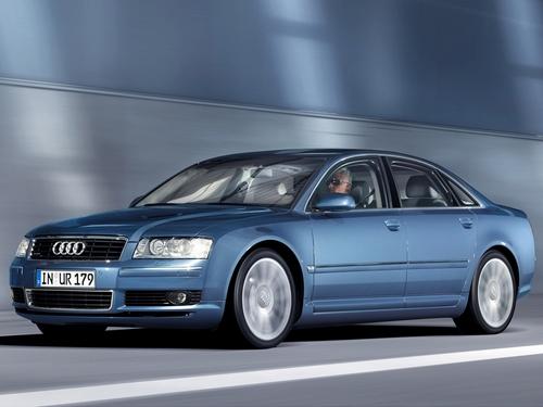 Фото автомобиля Audi A8 D3/4E, ракурс: 45