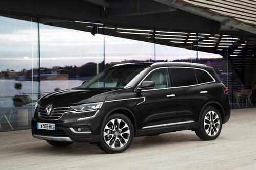 Фото автомобиля Renault Koleos 2 поколение, ракурс: 45 цвет: черный