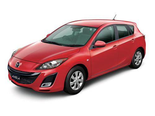 Фото автомобиля Mazda Axela BL, ракурс: 45
