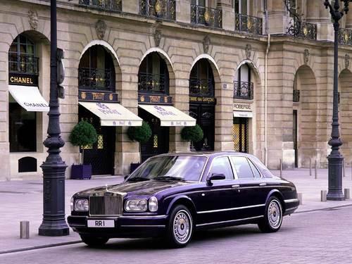 Фото автомобиля Rolls-Royce Silver Seraph 1 поколение, ракурс: 45