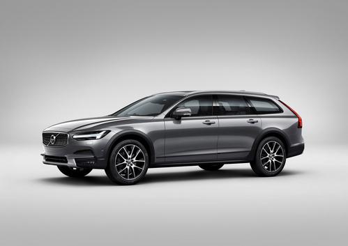 Фото автомобиля Volvo V90 2 поколение, ракурс: 45 цвет: серый