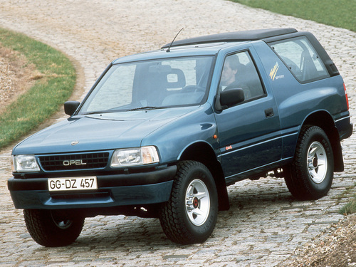 Фото автомобиля Opel Frontera A, ракурс: 45
