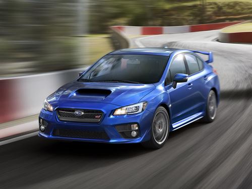Фото автомобиля Subaru Impreza 4 поколение, ракурс: 45 цвет: синий