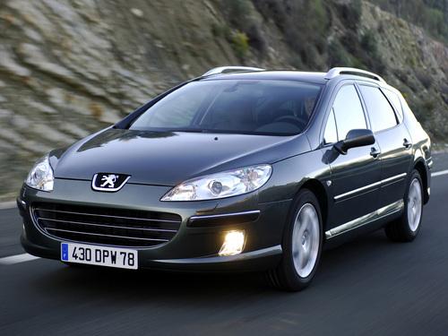Фото автомобиля Peugeot 407 1 поколение, ракурс: 45