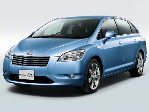 Фото автомобиля Toyota Mark X Zio 1 поколение, ракурс: 45