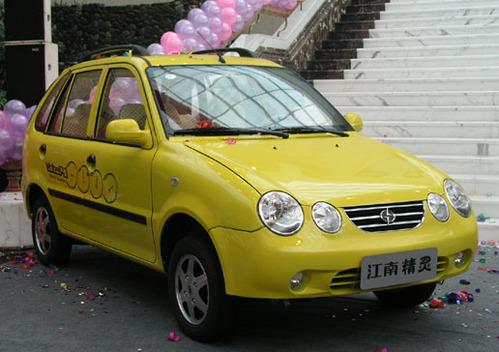 Фото автомобиля Jiangnan City Spirit 1 поколение, ракурс: 45