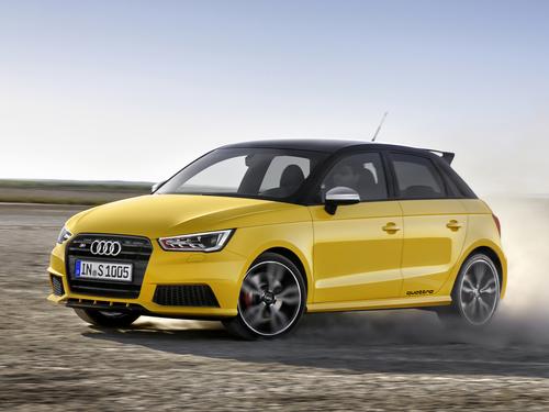 Фото автомобиля Audi S1 8X, ракурс: 45
