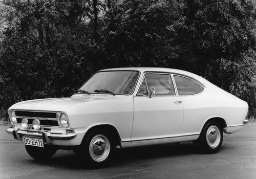 Фото автомобиля Opel Kadett B, ракурс: 45