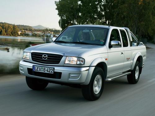 Фото автомобиля Mazda B-Series 5 поколение [рестайлинг], ракурс: 45