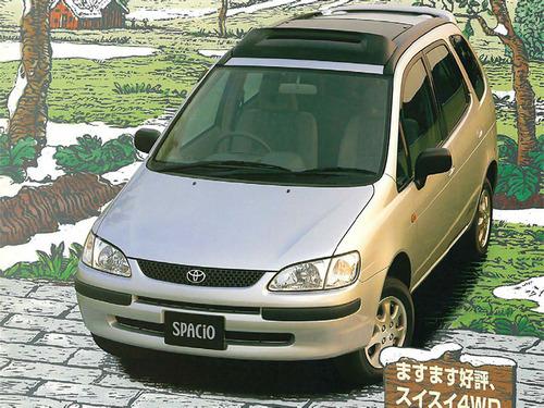Фото автомобиля Toyota Corolla Spacio 1 поколение, ракурс: 45