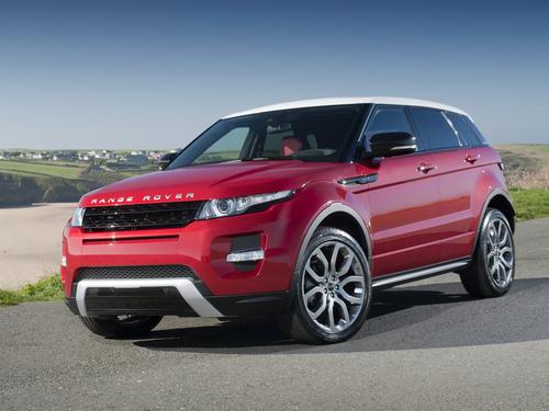 Фото автомобиля Land Rover Range Rover Evoque L538, ракурс: 45 цвет: красный