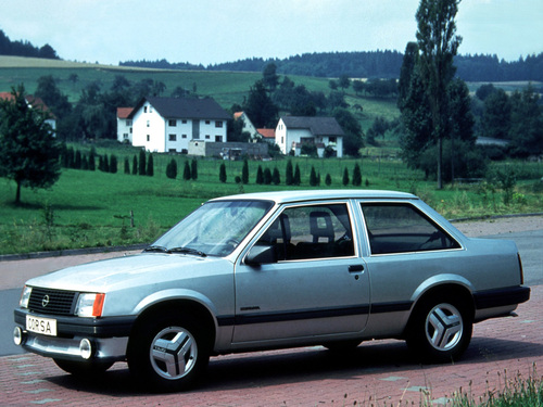Фото автомобиля Opel Corsa A, ракурс: 45