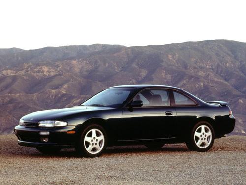 Фото автомобиля Nissan Silvia S14, ракурс: 45