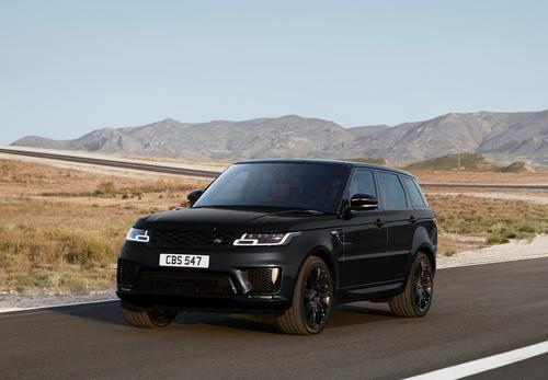 Фото автомобиля Land Rover Range Rover Sport 2 поколение [рестайлинг], ракурс: 45 цвет: черный