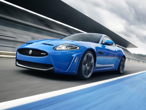 Фото автомобиля Jaguar XK X150 [2-й рестайлинг], ракурс: 45 цвет: синий
