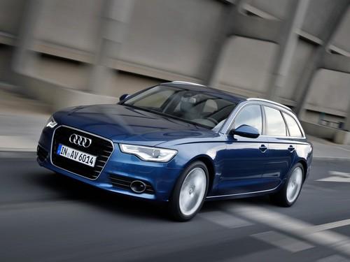 Фото автомобиля Audi A6 4G/C7, ракурс: 45 цвет: синий