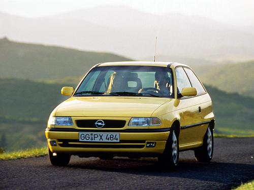 Фото автомобиля Opel Astra F [рестайлинг], ракурс: 45