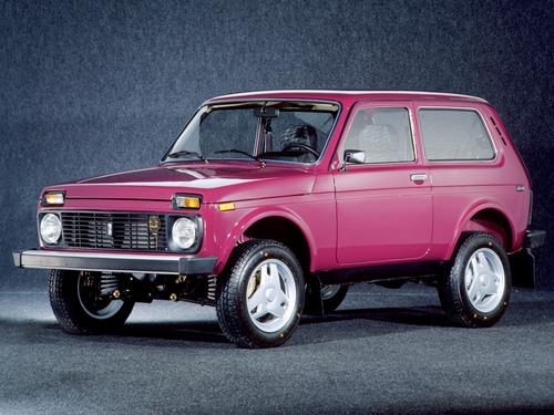 Фото автомобиля ВАЗ (Lada) 4x4 1 поколение [рестайлинг], ракурс: 45