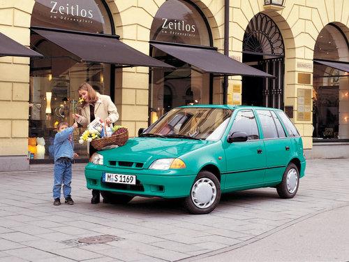 Фото автомобиля Subaru Justy 2 (JMA,MS), ракурс: 45